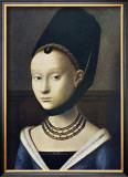 Portrait de Jeune Femme Print by Petrus Christus