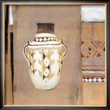 Ceramica Etnica I Print by  Nassanne