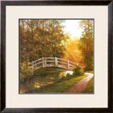 Wooden Bridge Art by T. C. Chiu