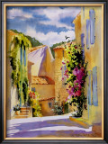 Coastal Village, France Art by Karen McLean