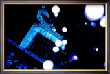 Tokyo Tower: World Diabetes Day Blue Illumination II Prints by Takashi Kirita