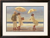 The Picnic Party II Poster by Jack Vettriano