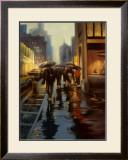 Manhattan Shimmer Print by Carol Jessen