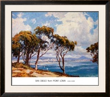 San Diego from Point Loma Prints by John Comer