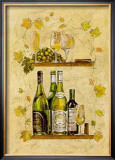 White Wine Prints by A. Vega