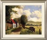 Road before the Dunes Prints by Pieter Molenaar