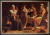 Famille de Paysans Art by Louis Le Nain