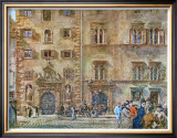 Landhaus and Old Zeughaus in Graz Art by Rudolph von Alt