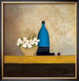 Blue Bottle Prints by Anouska Vaskebova