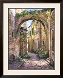 Cobbled Streets, St.Remy Poster by Roger Duvall