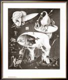 Hell Art by M. C. Escher