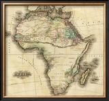Africa, c.1823 Framed Giclee Print by Henry S. Tanner