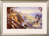 Pacific Coast Highway II Posters by John Comer