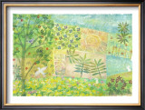 Song for Beginning, An Echo of Love Framed Giclee Print by Miyuki Hasekura