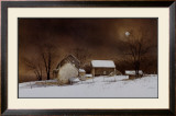 New Moon Print by Ray Hendershot