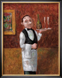 Sommelier II Framed Giclee Print by John Howard