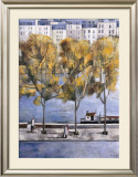 Autumn in Paris Print by Didier Lourenco