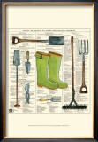 Garden Boots Posters by Ginny Joyner