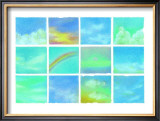 Paradise Sky Framed Giclee Print by Miyuki Hasekura
