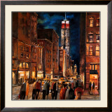 New York Night Prints by Didier Lourenco