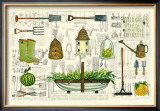 Garden Collection I Posters by Ginny Joyner