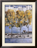 Autumn in Paris Prints by Didier Lourenco