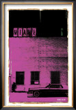Miami, Vice City in Purple Prints by Pascal Normand