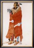 Mahchsi-Karehde, Mandan Man Posters by Karl Bodmer