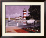 Morning at Harbour Town Art by Ray Ellis