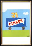 Circus Train II Prints by Erica J. Vess