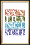 San Francisco Posters by Robert Littleford