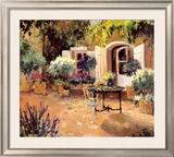 Country Villa Prints by Allayn Stevens
