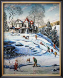 The Cape in Winter Posters by Hélene Corriveau