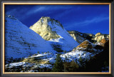 Mountain Snow and Shadows, Zion National Park Print by Charles Glover