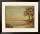 Sunset Beach II Print by Cheryl Kessler-Romano