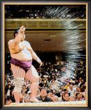 O Sumo Framed Giclee Print by Stephen Lebovits