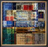 Correspondence Framed Giclee Print by Scott Neste