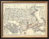 Massachusetts, Rhode Island, c.1846 Framed Giclee Print by Henry S. Tanner
