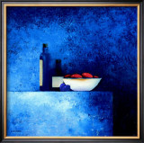 Still Life in Blue I Posters by Anouska Vaskebova