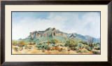 Superstition Mountain Art by Charlotte Klingler