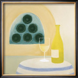 White Wine Prints by Laura Duggan