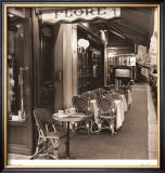 Caf' de Flore Prints by Alan Blaustein