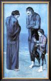 Les Pauvres au Bord de la Mer, c.1903 Posters by Pablo Picasso