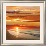 Sunset on the Water Prints by Dan Werner