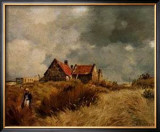 Cottage in the Dunes Poster by Jean-Charles Cazin