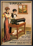 Simplex Ironer, 1915 Prints by D. Dettelbach