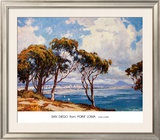 San Diego from Point Loma Art by John Comer