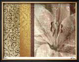 Classic Floral I Limited Edition Framed Print by M.J. Lew