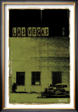 Las Vegas, Vice City in Green Print by Pascal Normand