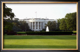 White House, Washington D.C. Framed Giclee Print by Eric Curre